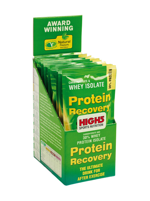 High5 Protein Recovery Drink Box Banana-Vanilla 9 x 60g